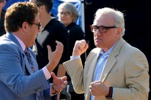 Martin Scorsese con Jonah hill